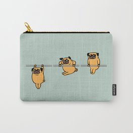 Muscles Ups Pug Carry-All Pouch