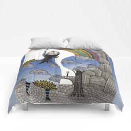 Rainbow Mine Comforters