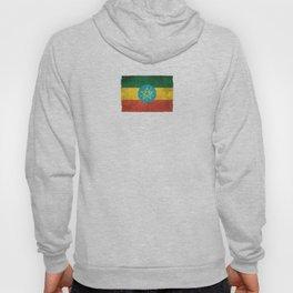 Old and Worn Distressed Vintage Flag of Ethiopia Hoody