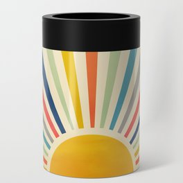 Sun Retro Art III Can Cooler