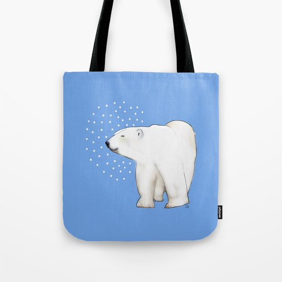 Polar Bear #8 Tote Bag