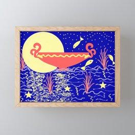 Fool Moon- (quarterly...) Framed Mini Art Print