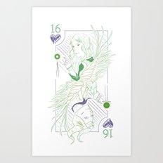 Sweet 16 Art Print