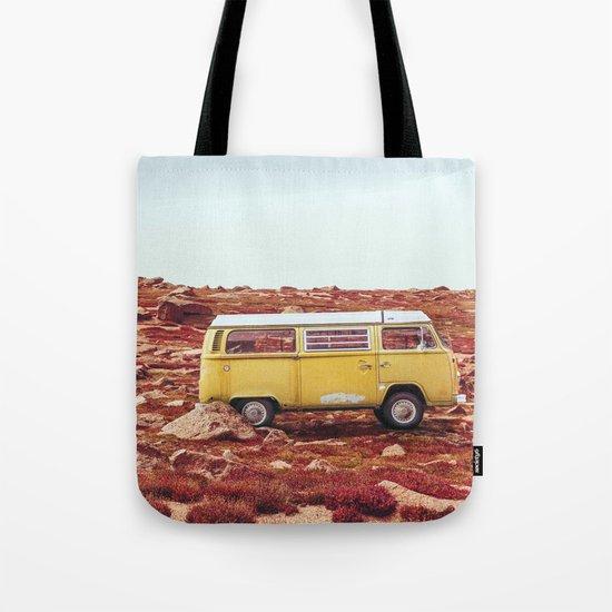 yellow Camper Tote Bag
