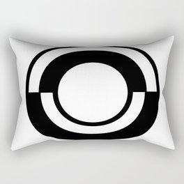 Letter O Rectangular Pillow