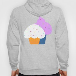 two cupcakes Hoody