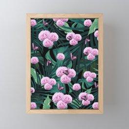 Tropical Peonies Dream #1 #floral #foliage #decor #art #society6 Framed Mini Art Print
