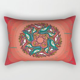 Jungle Mandala Rectangular Pillow