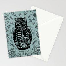 Owl Nesting Doll (Matryoshka) Stationery Cards