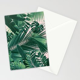 Jungle Leaves Siesta #1 #tropical #decor #art #society6 Stationery Cards