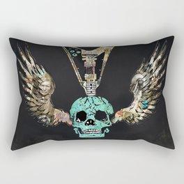 Rock band skull U turn Rectangular Pillow