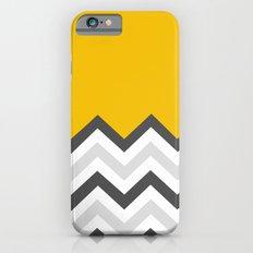 Color Blocked Chevron 17 iPhone 6s Slim Case