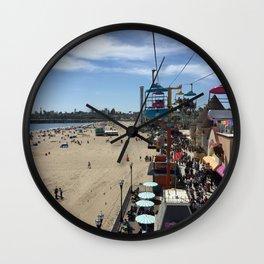 Santa Cruz Beach Boardwalk April 26, 2015 Wall Clock