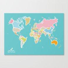 Map Print Canvas Print