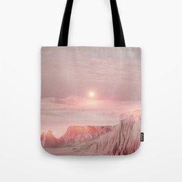 Pastel desert Tote Bag