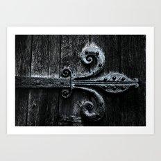 {aged} Art Print