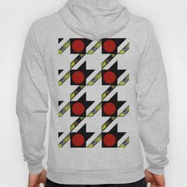 HOUNDSTOOTH PATTERN WITH POLKA DOT EFFECT Hoody