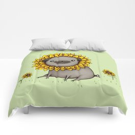 Pugflower Comforters