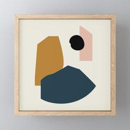 Shape study #1 - Lola Collection Framed Mini Art Print
