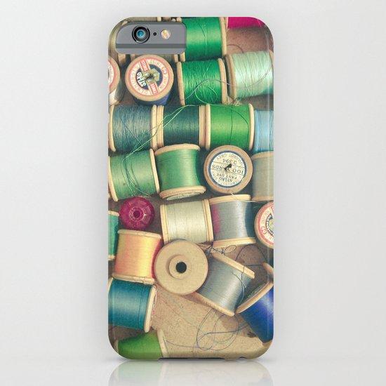 Cotton Reels iPhone & iPod Case
