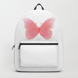 Watermelon pink butterfly Backpack