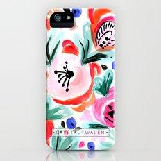 Tropical Floral Slim Case iPhone SE