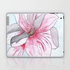 Magnolia Flower watercolor Laptop & iPad Skin