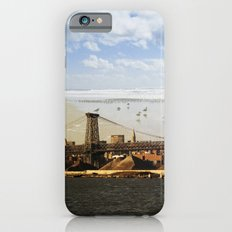 A HELICOPTER IN HER SKY, A SEAGULL ON HIS BRIDGE iPhone 6s Slim Case