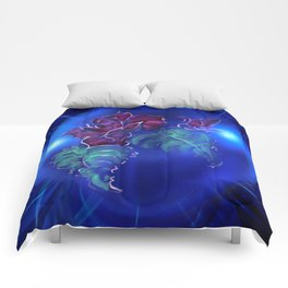Abstract in perfection - Fertile Imagination Rose 2 Comforters