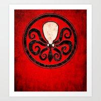 Hail Slender Art Print