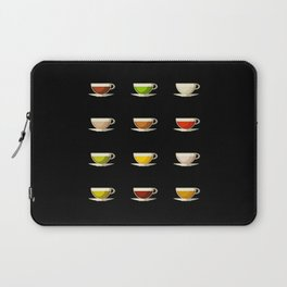 Different Tea Mugs - Tealover Gift Laptop Sleeve