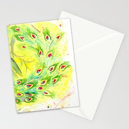Dream Peacock Stationery Cards