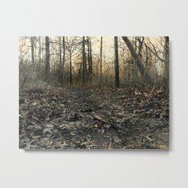 Into the Brush Metal Print
