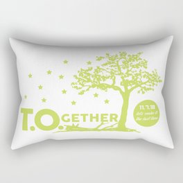 T.O.gether - Honoring Borderline Shooting Victims Rectangular Pillow