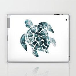 Sea Turtle - Turquoise Ocean Waves Laptop & iPad Skin