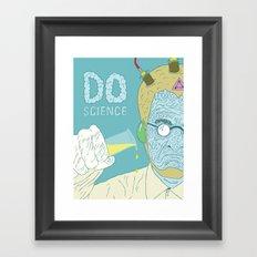Do Science  Framed Art Print