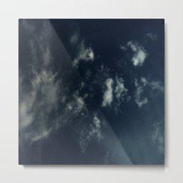 Cloud and sky 14 -cloud, sky, blue, positive,optimism Metal Print