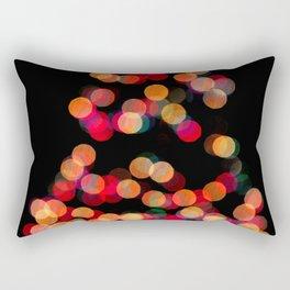 BOKEH XMAS TREE Rectangular Pillow