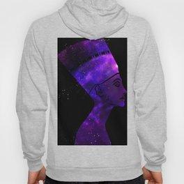 Queen Nefertiti Nebula Dark Stardust Hoody