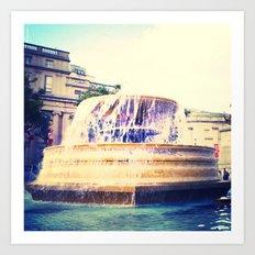 Fountain of Trafalgar Art Print
