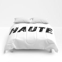 Haute (High) Comforters