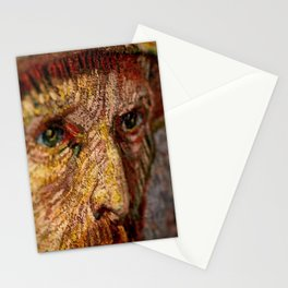 Vincent van Gogh's Eyes portrait painting Stationery Cards