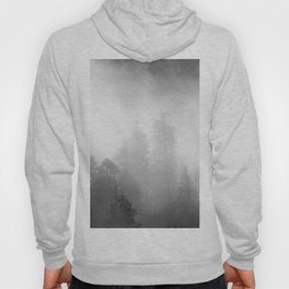 Harmony - Misty Mountain Forest Nature Photography Hoody