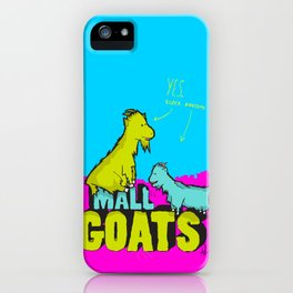 Mall Goats iPhone Case
