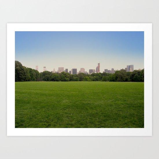New York in 20 pics - Pic 12. Art Print