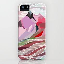 Ocean Sea Mountains iPhone Case