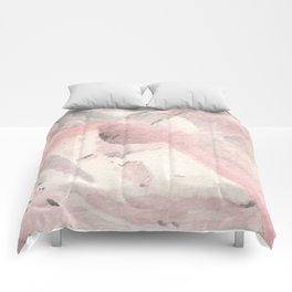 Morganite Crystal Watercolor Comforters
