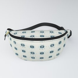 SHIBORI INSPIRED geometrical Fanny Pack