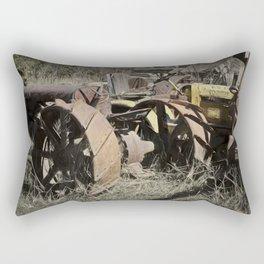 Tractor Trash Rectangular Pillow