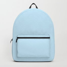 Retro Pastel Blue Backpack